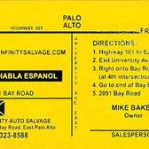 infinity auto salvage 15 reviews auto parts supplies 2091 bay rd east palo alto ca. Black Bedroom Furniture Sets. Home Design Ideas