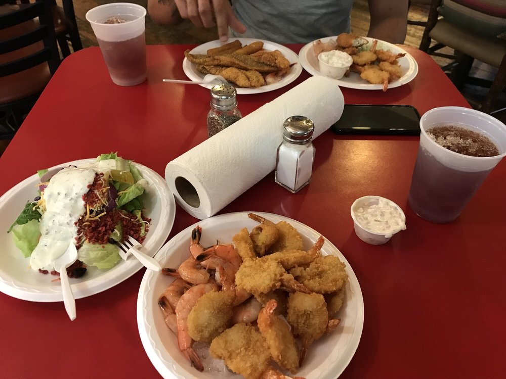 Stacey's Fish Fry: 7565 Farm Rd 275 S, Miller Grove, TX