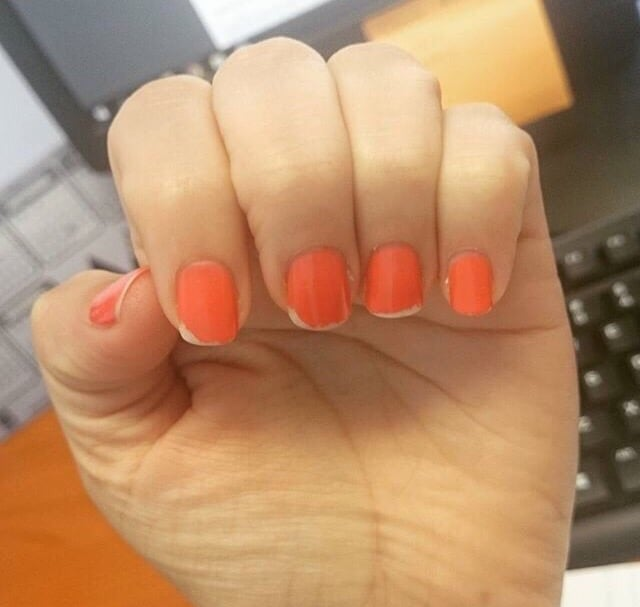 Even though no manicure is guaranteed my manicure did not for 1662 salon east fort lauderdale