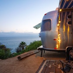 California beach camping with rv hookups florida