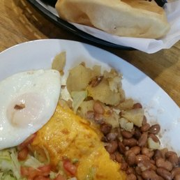 Photo Of El Patio De Albuquerque   Albuquerque, NM, United States.  Breakfast Enchilada