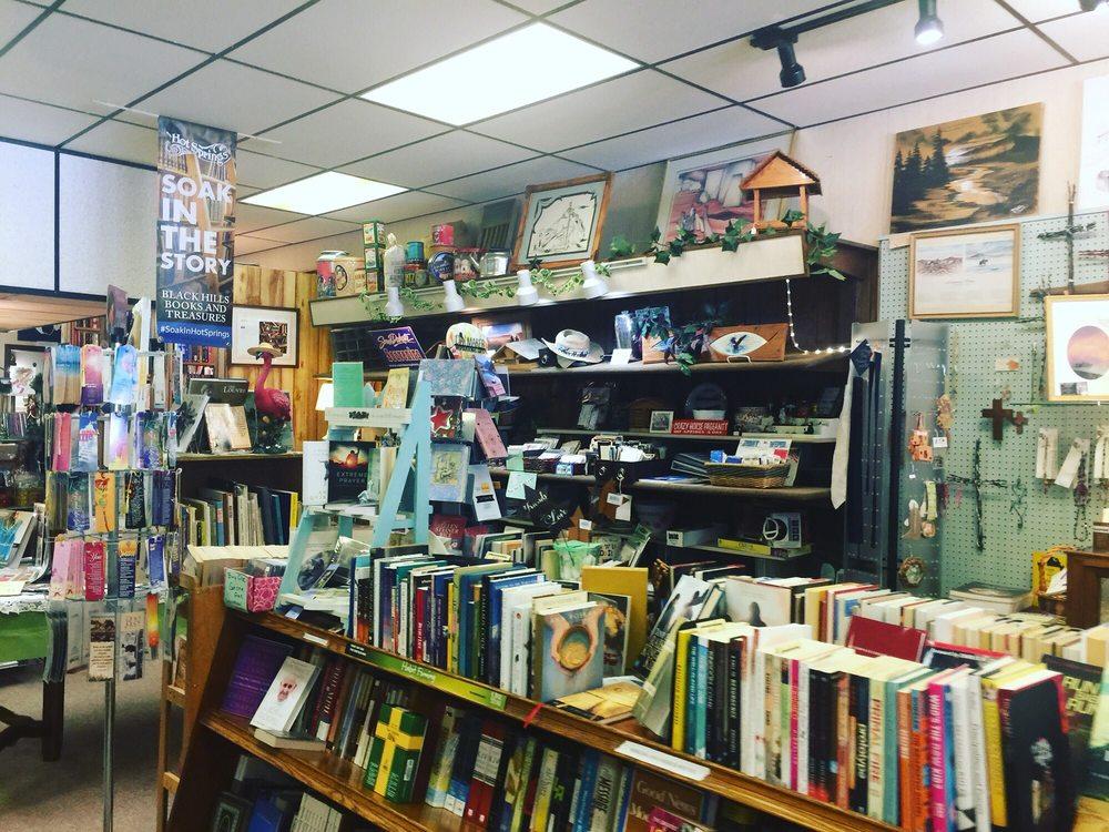 Black Hills Books & Treasures: 112 S Chicago St, Hot Springs, SD