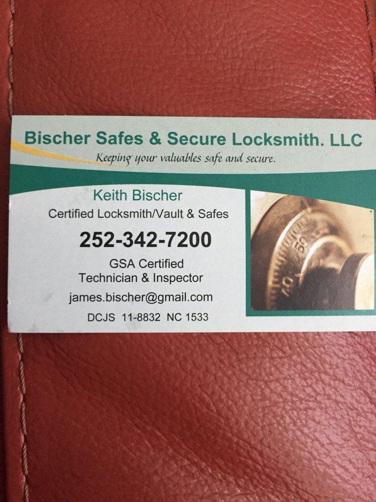 Bischer Safes & Secure Locksmith: Newport, NC