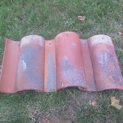 Photo Of Vintage Roof Tile   San Jose, CA, United States. Mission Straight