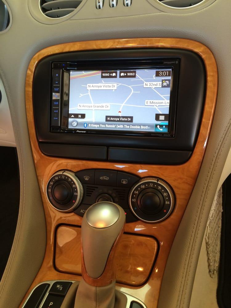 Custom Installation To Update 2003 Mercedes Sl500 Av