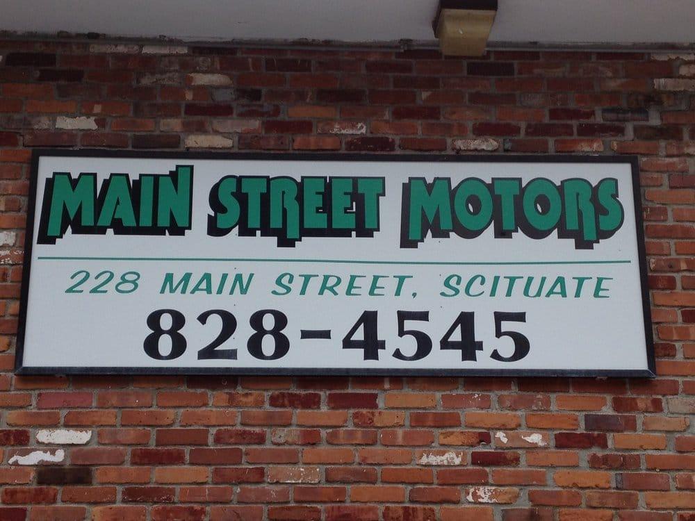 Main Street Motors Car Dealers 228 Main St North