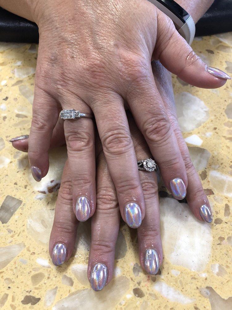Nice nails/chrome art by nini - Yelp