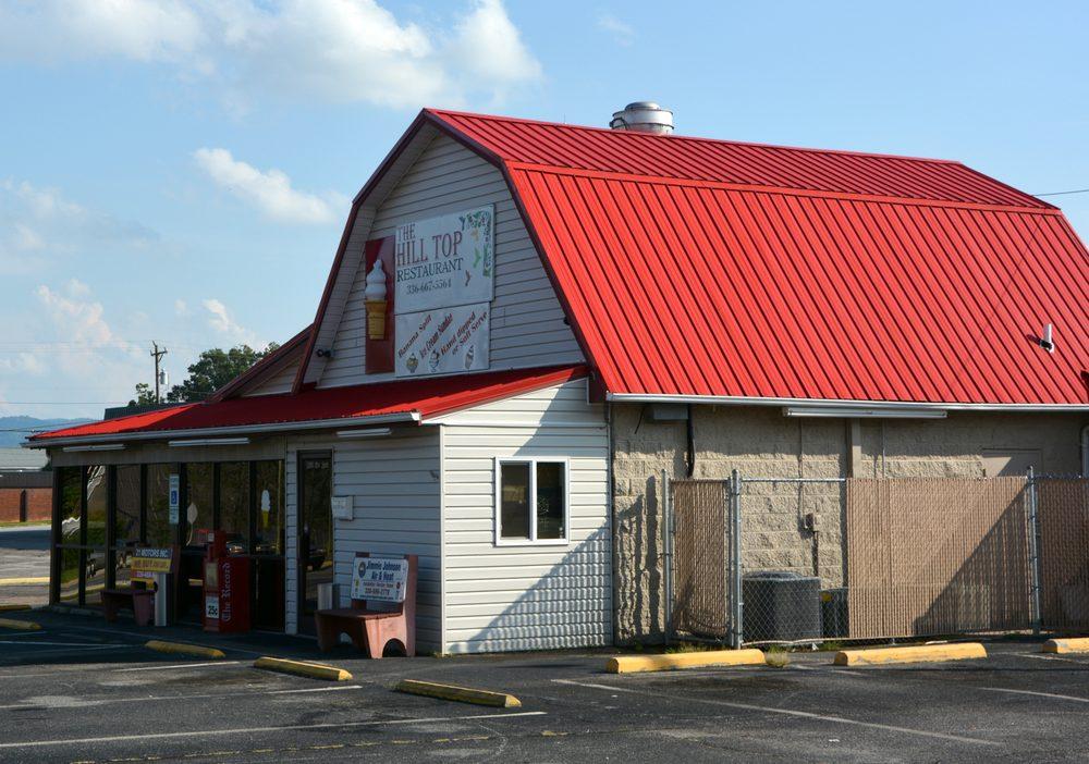 Hill Top Restaurant: 1205 2nd St, North Wilkesboro, NC