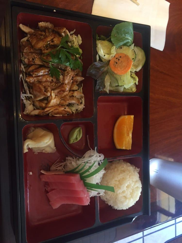 Teriyaki chicken and tuna box yelp - Shogun japanese cuisine ...