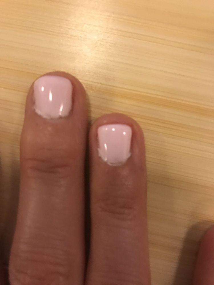 Eva Salon and Spa - worst gel manicure. Pics taken day of manicure ...