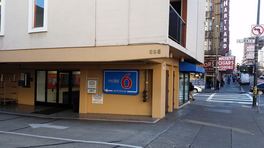 motel 6 24 photos 57 reviews hotels 895 geary st. Black Bedroom Furniture Sets. Home Design Ideas