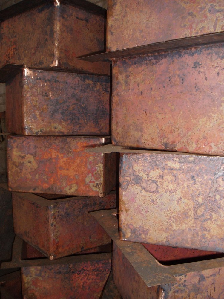 Photo Of Milagros   Orem, UT, United States. Hand Hammered Copper Sinks From