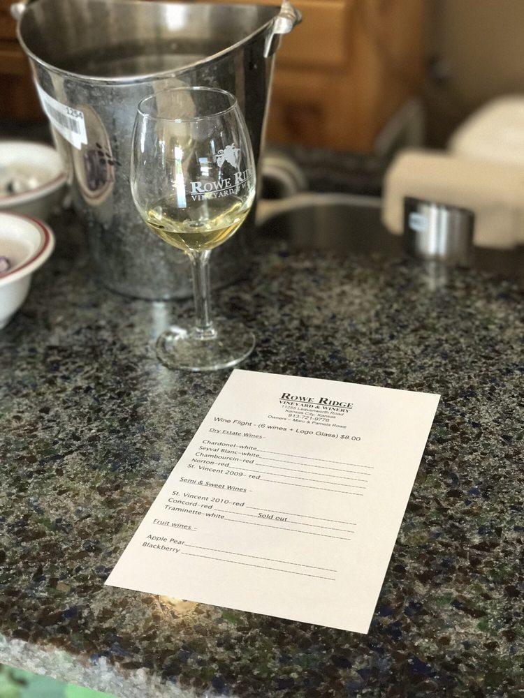 Rowe Ridge Vineyard & Winery