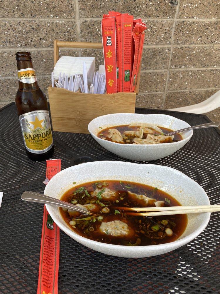 Food from Mo's Dumpling