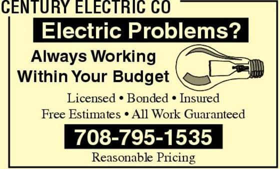 Century Electric: 6215 W 26th St, Berwyn, IL