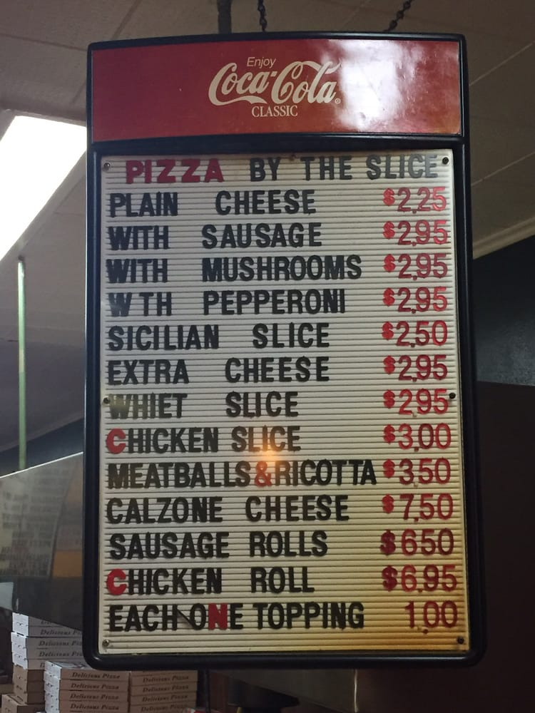 Online Menu of Delios Pizza Restaurant, South Amboy, New Jersey ...