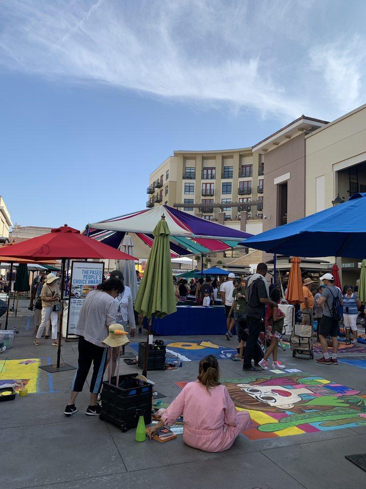 Pasadena Chalk Festival: 300 E Colorado Blvd, Pasadena, CA