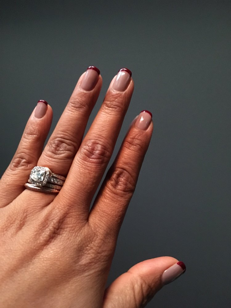My nails ready for a very grueling Thanksgiving day...Opi \