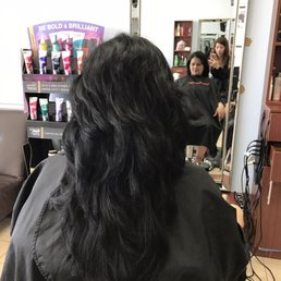 Hair salon katy tx om hair for Adam and eve salon katy tx