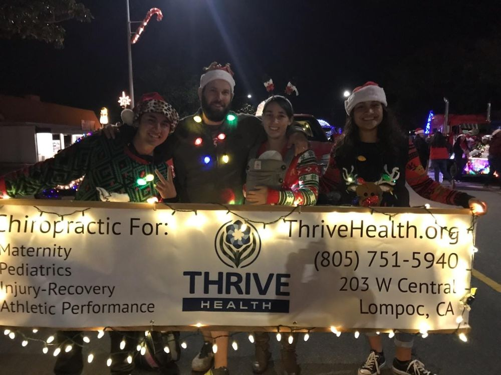 Thrive Health A Hurd Chiropractic P C: 203 W Central Ave, Lompoc, CA
