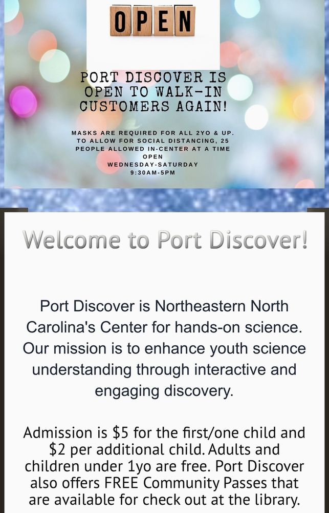 Social Spots from Port Discover