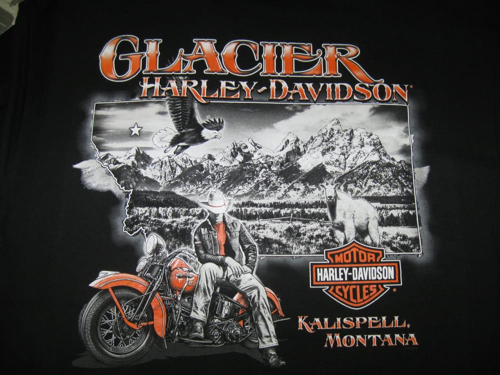 another Awesome Glacier H-D t-shirt - Yelp