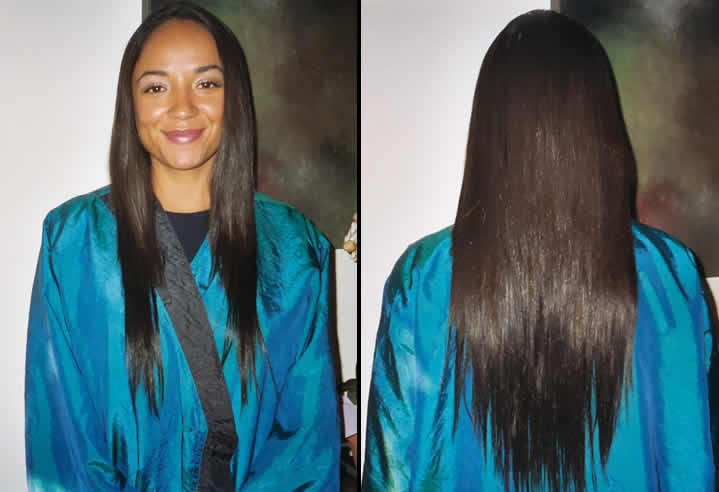 Japanese Hair Straightening Milbon Liscio And Hair Extensions Yelp