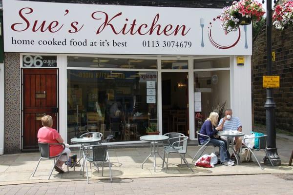 Sue S Kitchen Coffee Tea Shops 96 Queen Street Leeds