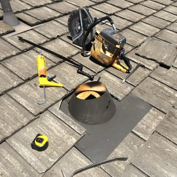 Installing a new roof jack in a Boral AKA Monier/Lifetile