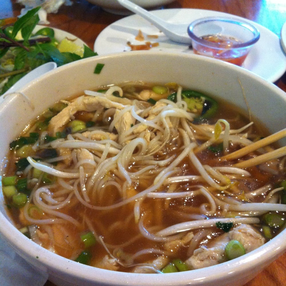 Pho Ga... The Best Soup In Raleigh..