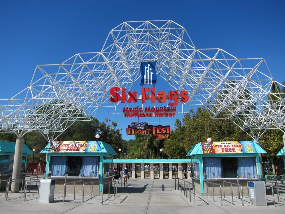 3710 P Os For Six Flags Magic Mountain