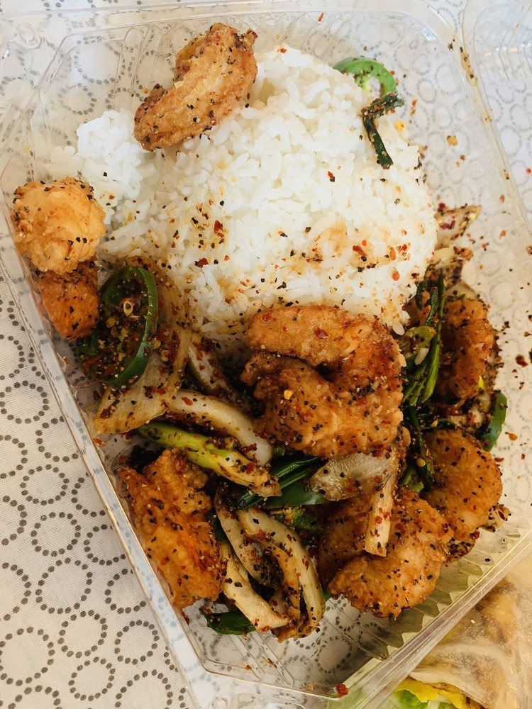 Golden Triangle Asian Fusion: 9320 SE Woodstock Blvd, Portland, OR