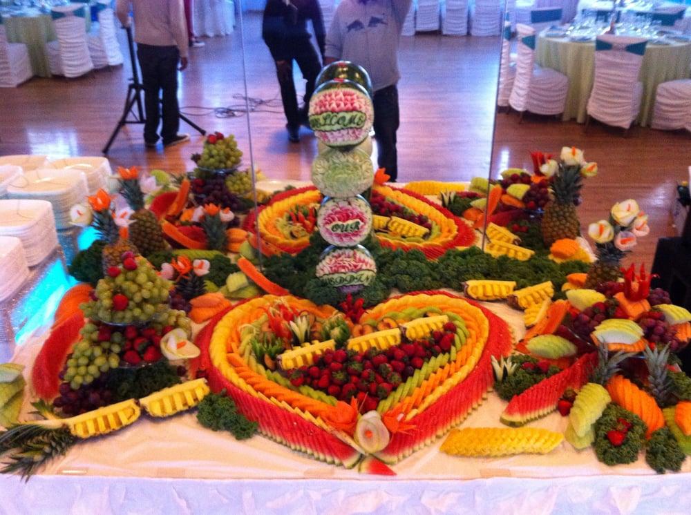 Fruit table (wedding) - Yelp