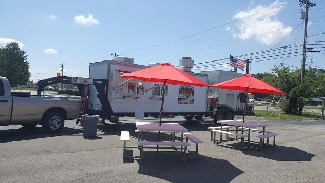 Food from Armour's BBQ and Catering