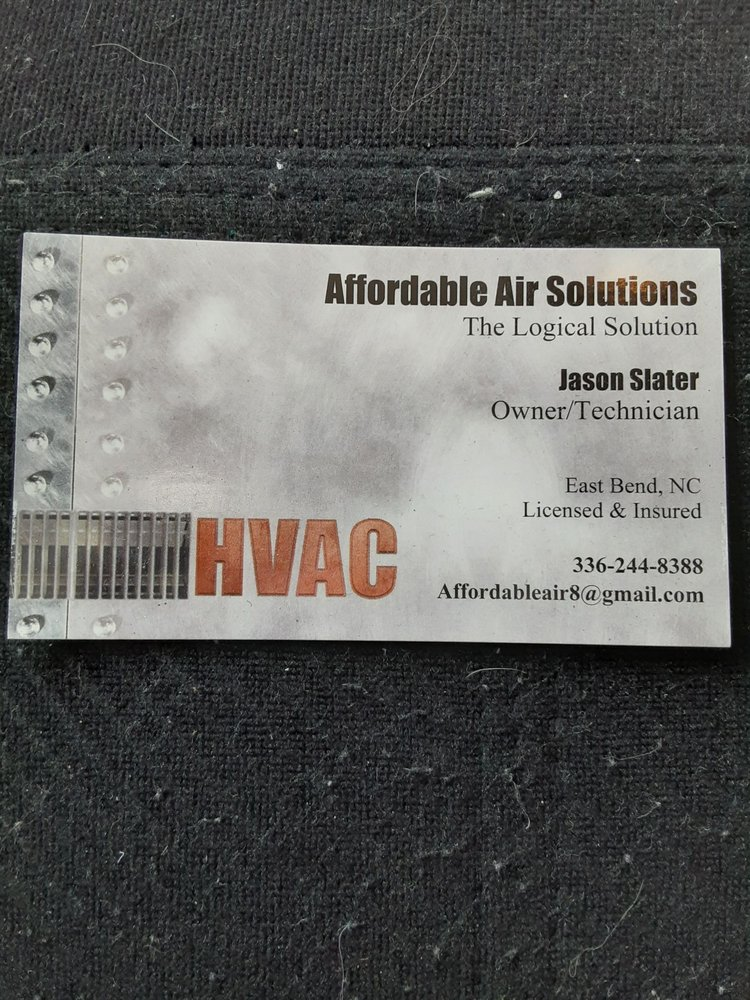 Affordable Air Solutions: East Bend, NC