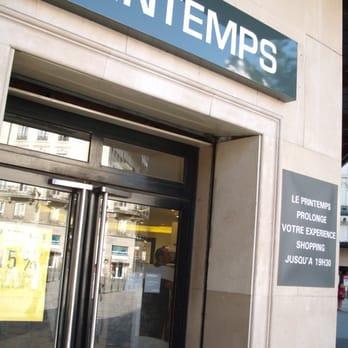 le printemps 26 avis grands magasins 42 rue de la r publique bellecour lyon france. Black Bedroom Furniture Sets. Home Design Ideas
