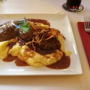 ... Photo Of Esszimmer   Großostheim, Bayern, Germany. Wildhacksteaks Mit  Kartoffelstampf ...
