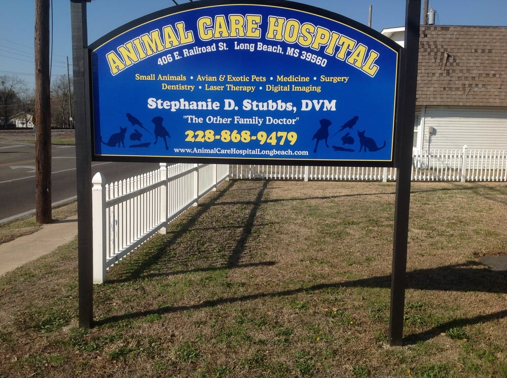 Animal Care Hospital: 406 E Railroad St, Long Beach, MS