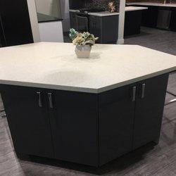 Photo Of Prime Kitchen Cabinets Port Coquitlam Bc Canada White Quartz Countertop