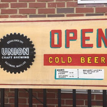 Union craft brewing 68 photos 76 reviews breweries for Union craft brewing baltimore md