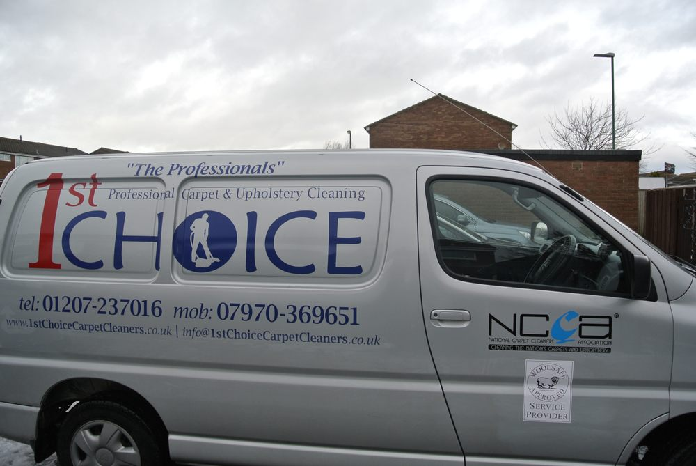 1st Choice Professional Carpet & Upholstery Cleaners | 19 Browning Close, Stanley DH9 6UE | +44 1207 237016
