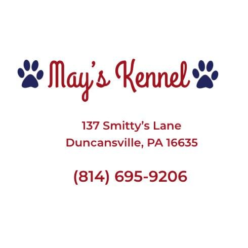 May's Kennel: 137 Smitty's Ln, Duncansville, PA