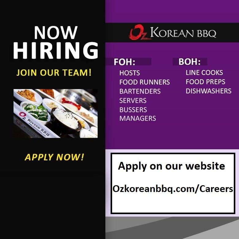 Oz Korean BBQ - Sacramento
