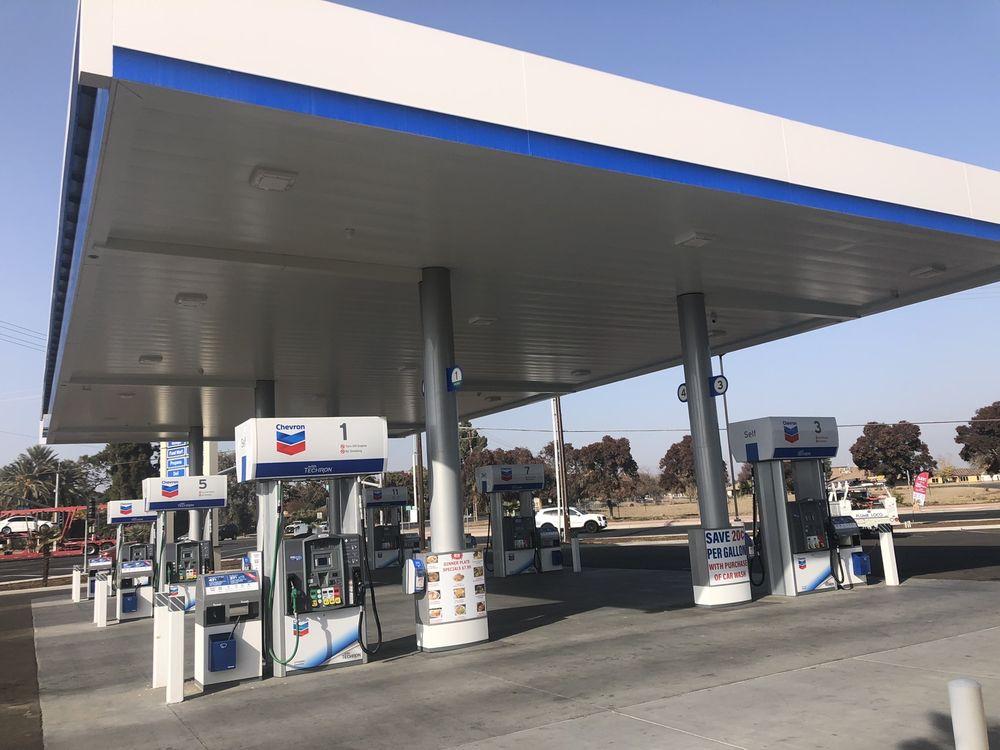 Chevron: 1645 N 12th Ave, Hanford, CA