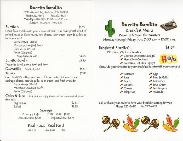 Burrito Bandito - 35 Photos & 103 Reviews - Mexican - 8938