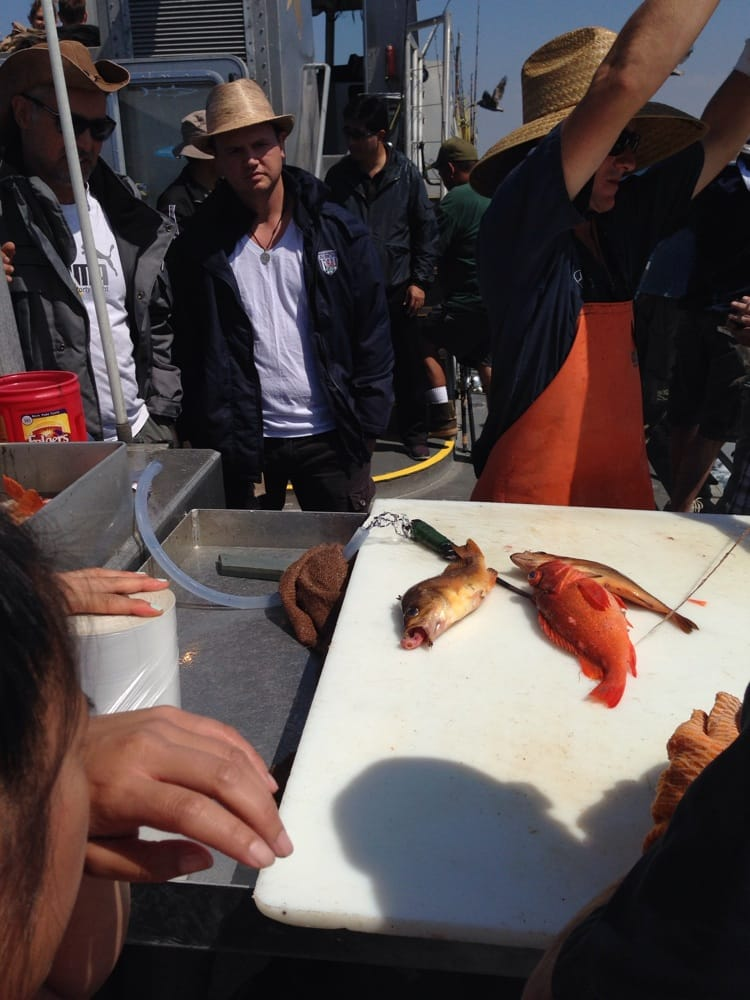 Gutting the fish we caught yelp for Marina del rey fishing report