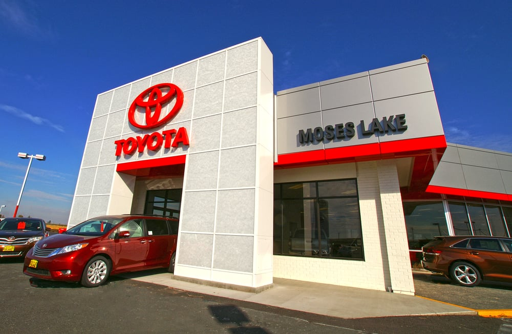 Bud Clary Toyota of Moses Lake: 12056 N Frontage Rd E, Moses Lake, WA