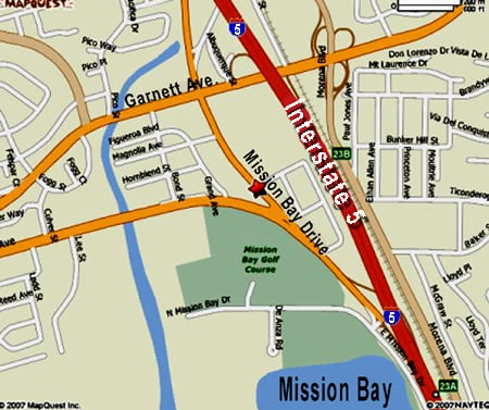 Photo of Gary L Matson, DO - San Diego, CA, United States. Map of office location in Pacific Beach
