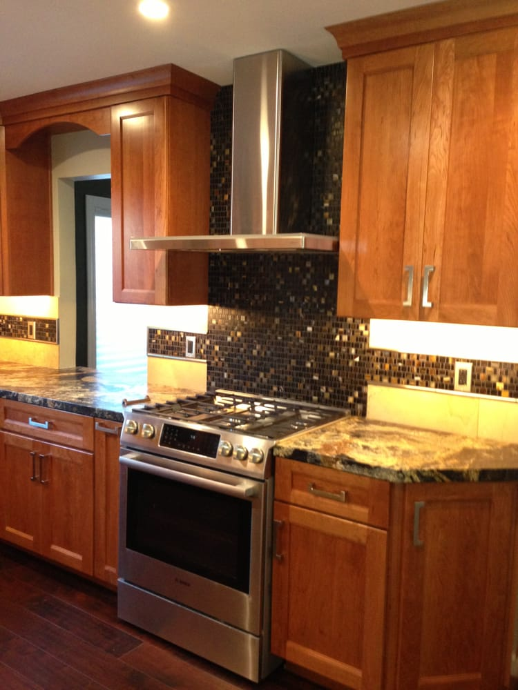 Another View Of Our New Kitchen With Medallion Cabinets Yelp