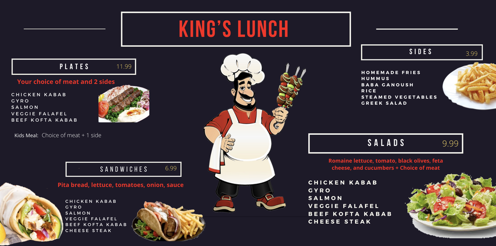 King Kabab: 562 Kingsley Ave, Orange Park, FL